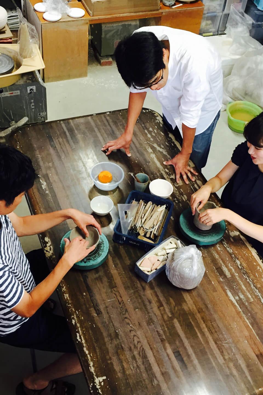 陶芸教室 使いたい器をご自分で制作してみませんか?